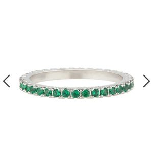 May Green petite bijou stackable rings